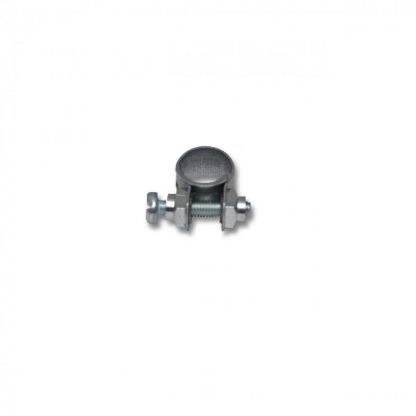 Spannbackenschelle mit 9 - 10 mm Spannbereich, 9 mm Bandbreite, W1, DIN 3017-2